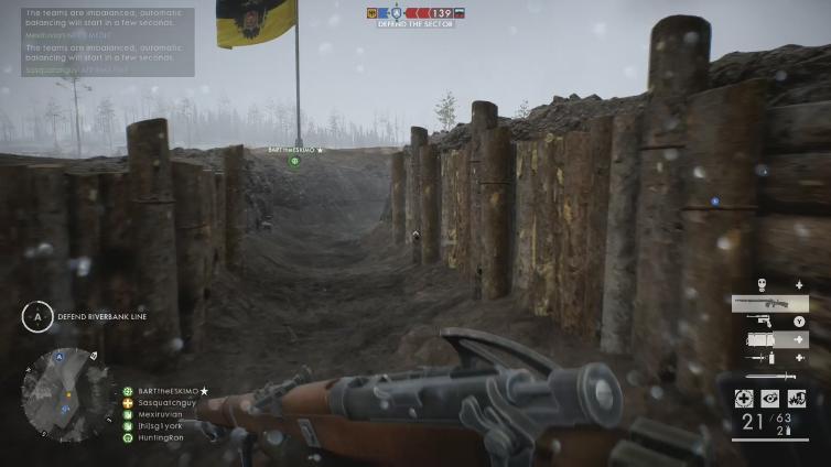 Sasquatchguy playing Battlefield 1