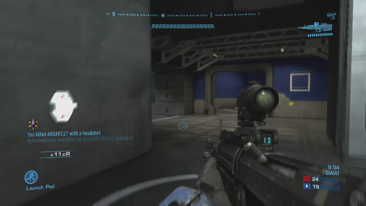 ShinyKelly95 playing Halo: Reach