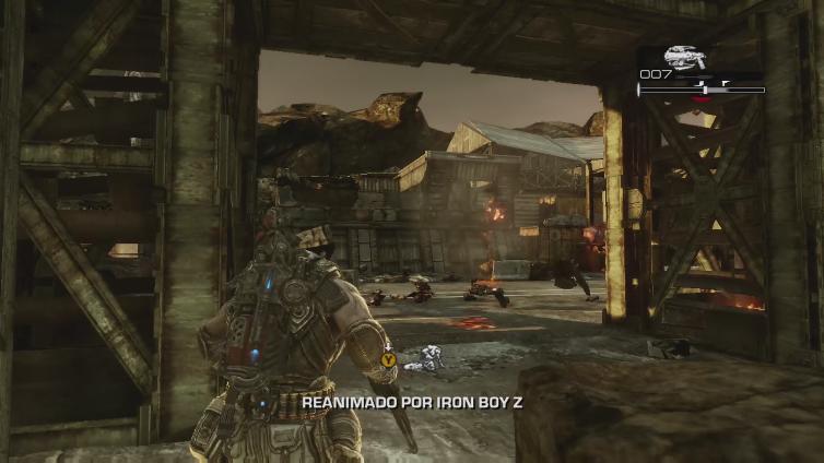 NintendoB0Y playing Gears of War 3